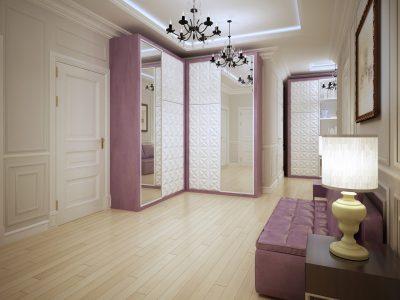 salon z lustrami
