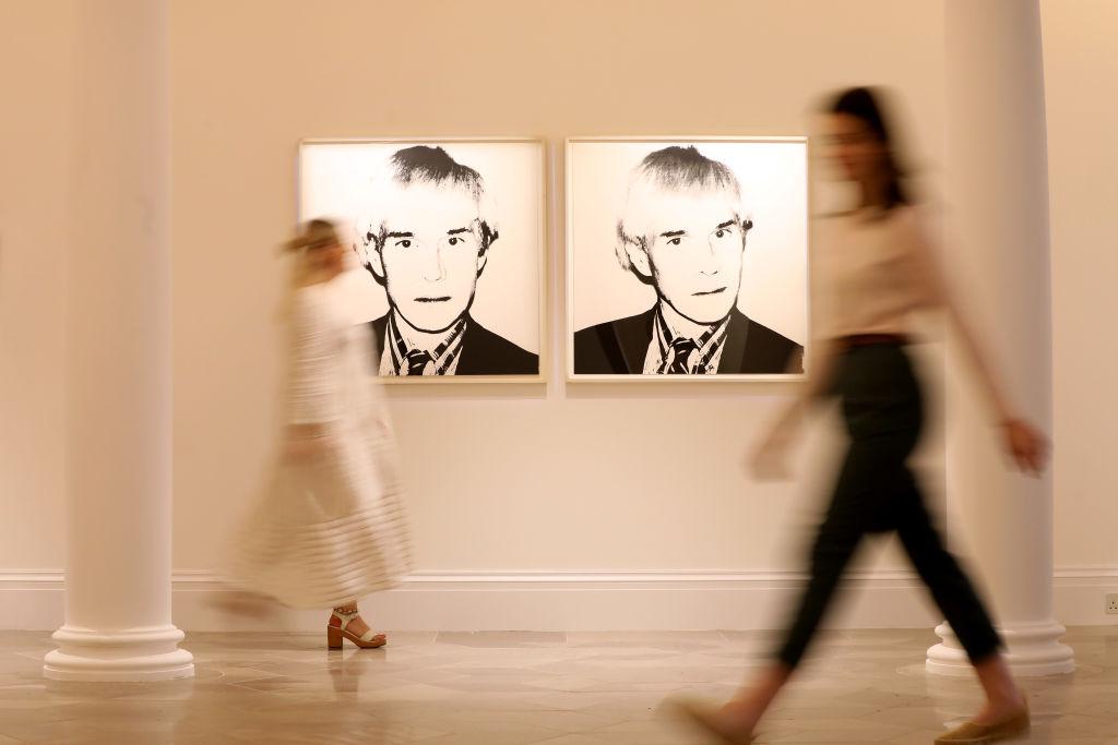 portrety Andego Warhola