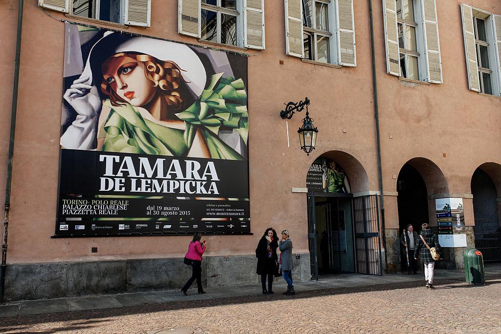 wystawa Tamary Łempickiej we Włoszech